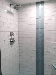 4x12 white subway tile white glass shower 4x12 white glass subway tile