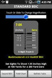Bdc Chart For Nikon Scopes Nikon Spoton Ballistic Match 1 5 7 Free Download