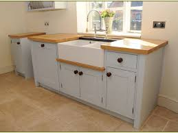 kitchen sinks sage rectangle contemporary wooden stand alone kitchen sink cabinet stained