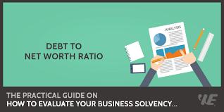 Debt To Net Worth Ratio Formula Calculator Updated 2018