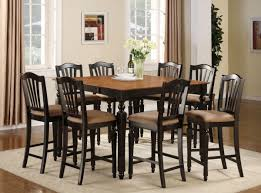 Tall Square Kitchen Table Set Tall Kitchen Table Sets Classic Dining Room With Wine Storage