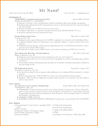 Powertrain Test Engineer Sample Resume 15 Electronic Test Engineer