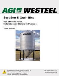 Seedstor K Grain Bins