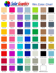 Colour Chart Awesome Colour Chart 12816