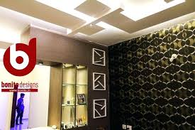 l shaped bedroom false ceiling living room false ceiling design has ledges which have spotlights