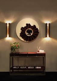 Small Picture 8 ideas to use a round mirror in a large living room