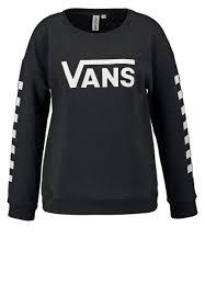 Vans Women Sweatshirts BIG FUN - Sweatshirt - black,vans clothing sizing, vans bags
