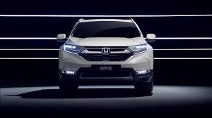 2018 Honda Crv Fog Light Bulb Replacement Euro Spec 2018 Honda Cr V Previewed By Hybrid Prototype
