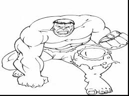 Small Picture Extraordinary incredible hulk coloring pages printable with hulk