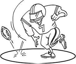 Small Picture Football Colouring Pages Printable Coloring Pages