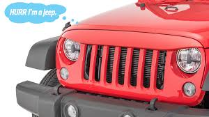 Jeep Smiley Face Lights These Grilles Make Your Jeep Look Stupid Not Tough