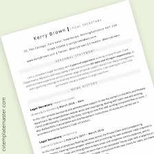 Word Resume Layout Cv Template 222 Free Professional Microsoft Word Cv