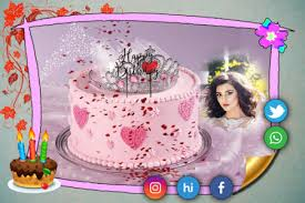 Download Birthday Cake Photo Frame From Myket App Store