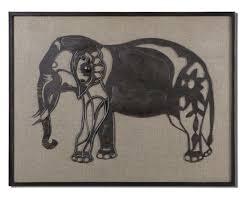 mermaid wall decor elephant wall painting elephant nursery decor dorm wall decor elephant baby decor elephant