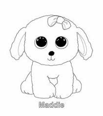 Beanie Boo Coloring Pages Only Motivate Ty Art Gallery Along With 3