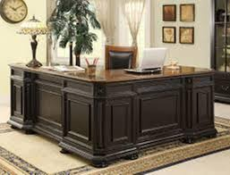 office desk l. Image Of: Black Office Desk L Shaped