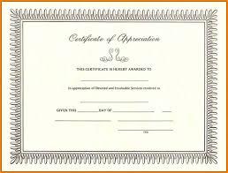 5 Certificate Of Appreciation Samples Catering Resume
