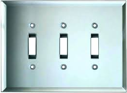 brushed nickel switch plate brushed nickel switch plate covers ceramic switch plates white covers wooden brushed nickel switch plate