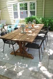 diy outdoor farmhouse table. Farmhouse Patio Table Outdoor For Sale DIY Table: Outstanding Diy U