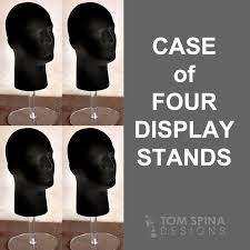 Helmet Display Stands Extraordinary Case Of 32 Deluxe Display Stands With Acrylic Risers Tom Spina