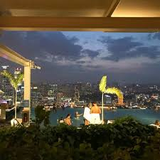 infinity pool singapore night. Sky Line Of Singapore City From One Side Spago. There\u0027s Also The Famous Infinity Pool That Overlooks Whole Singapore. Night F