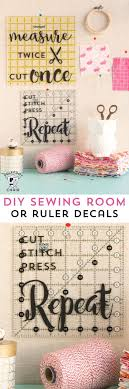 diy sewing room decor ideas and free