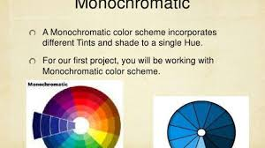 Incredible Monochromatic Color Definition In Art Interior Design Blindness  Wheel