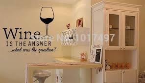 free shipping funny bar pub wall art stickers wine decals restaurant wall decor vinyl wine on wine bar wall art with free shipping funny bar pub wall art stickers wine decals