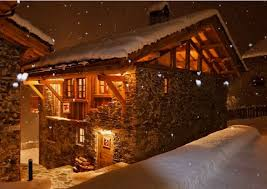 Vacation ski chalet in The Alps