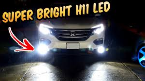 2016 Honda Crv Fog Light Assembly Super Bright H11 Led Fog Lights 2017 Honda Pilot