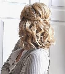 Photo Coiffure Mariage Mi Long Tresse Coupe De Cheveux