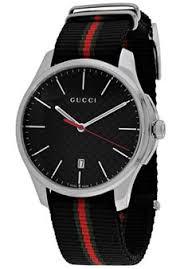 ralph lauren men s large stirrup chronograph movement watch gucci men s g timeless black green nylon black dialgucci ya126321 watch