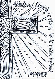 Flame Creative Childrens Ministry Easter Day Reflective Colouring