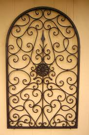 wrought iron wall decor wrought iron