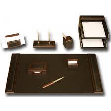 bonded leather desk set 6 piece pink. D8420 · Walnut \u0026 Leather 10-Piece Desk Set Bonded 6 Piece Pink C