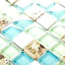 sea glass tile border wall home design tutorial i70 sea