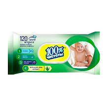 """Влажные салфетки """"<b>100</b>% чистоты"""" для детей Экстракт <b>алоэ</b> ..."""