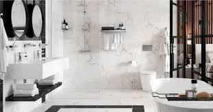 chrome or stainless steel bathroom