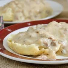 Momu0027s Country Gravy Recipe  AllrecipescomCountry Style Gravy Recipe