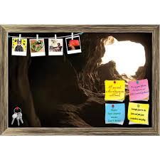 Be The Light Bulletin Board Amazon Com Artzfolio Natural Light Inside The Cave Printed