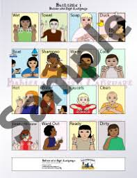 Baby Sign Language Chart Baby Sign Language Bath Signs Chart Sign Language Bathtime