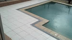 pool edge paving