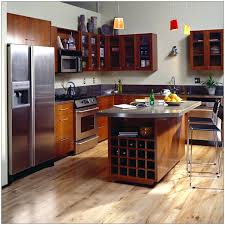 Kitchen Design  Small Kitchens Varnished Ideas Marvellous Brown - Kitchens remodeling