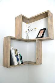decorative corner shelves pretentious remarkable decoration best wall ideas on glass shelf