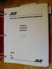 jlg heavy equipment manuals books for boom lift jlg 1200sjp 1350sjp service repair manual boom lift maintenance troubleshooting