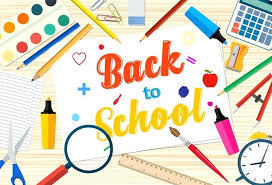 google office slides. Download Welcome Back To School Template With Office Supplies On Desktop Stock Photo Image Of Facebook Google Slides