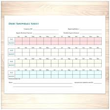 Debt Payoff Excel Debt Snowball Excel Printable Debt Snowball Sheet And Debt Payoff