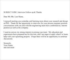 Best Photos Of Email After Interview Template Follow Up Email