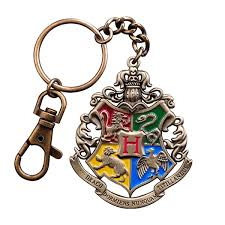 Harry Potter - Hogwarts Crest Keychain - ZiNG Pop Culture