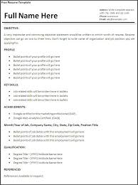 Sample Work Experience Resume How To Make A Resume With No Job